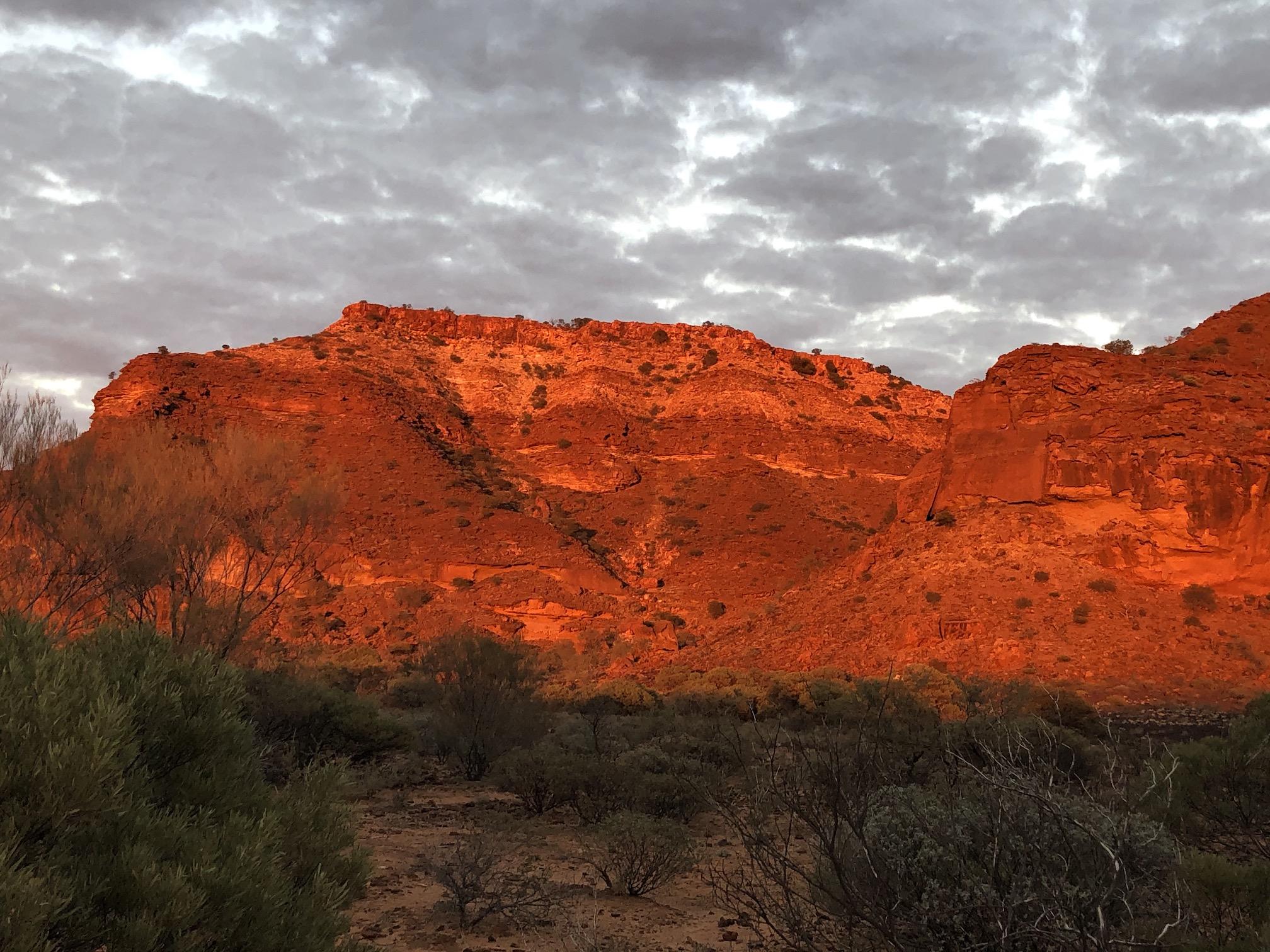 2020-07-05  Sunrise on Kennedy Range