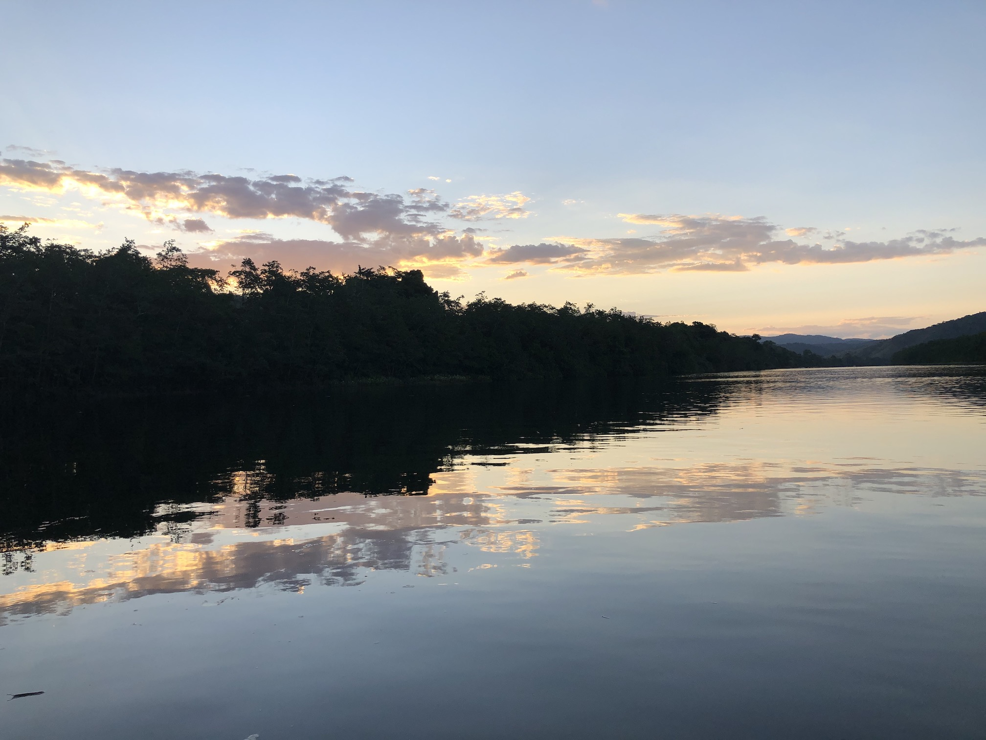 2020-10-30 River Daintree sunset