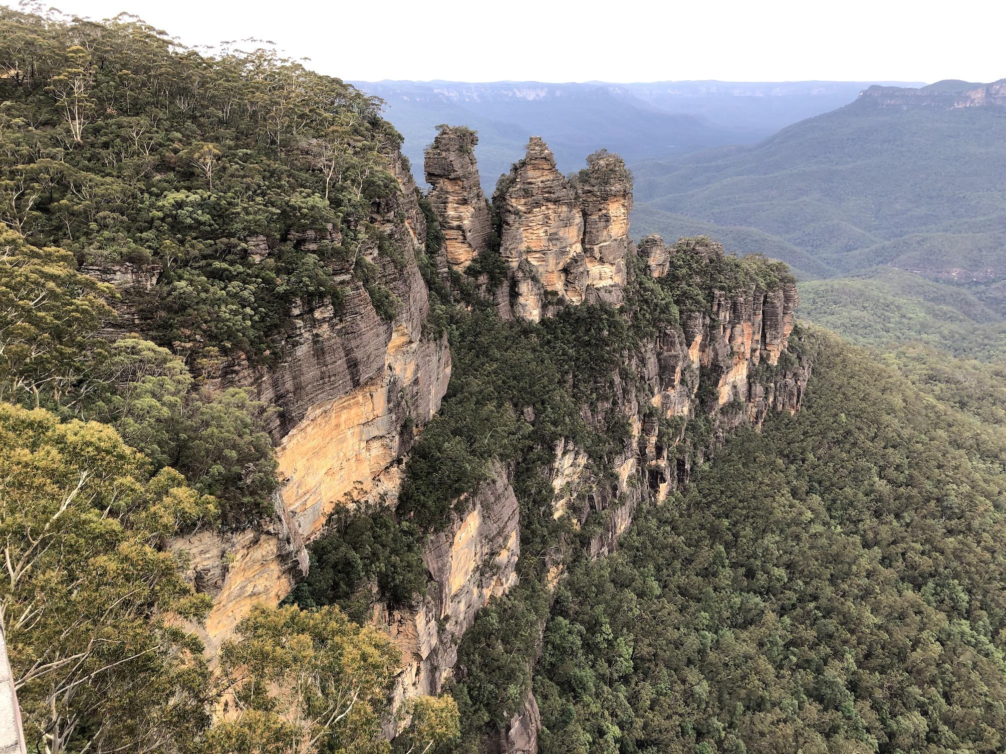 2020-02-16 Blue Mts - Katoomba, Three Sisters