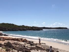 2020-08-04 Beach on Dampier Peninsula, Koolajman Peninsula