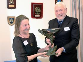 2020-01-18 Duchess of Kent Trophy being awarded in London