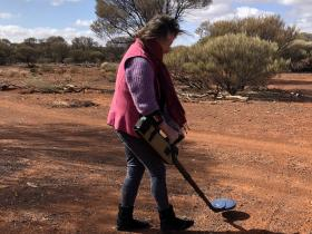 2020-06-29  Prospecting near Mt Magnet - but no gold found