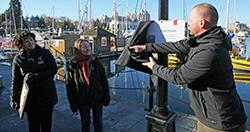 Naming of Victoria Harbour Dock